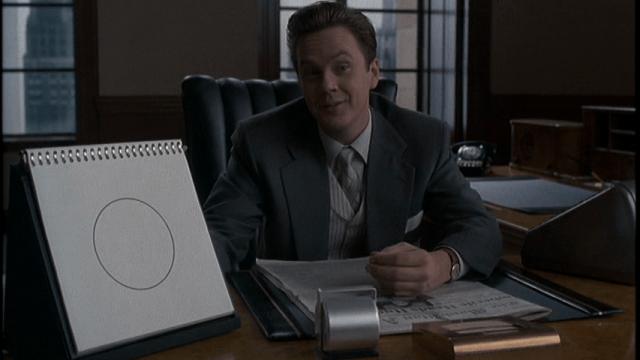 Tim Robbins in 'The Hudsucker Proxy'