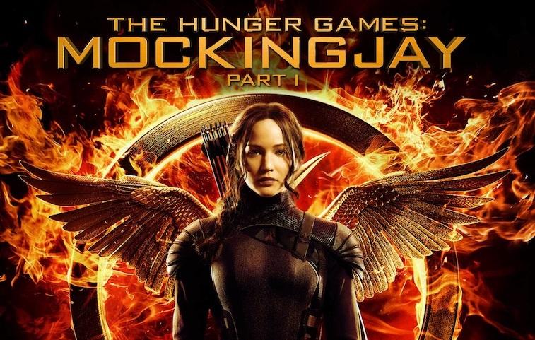 Jennifer Lawrence on The Hunger Games: Mockingjay, Part 1 – Original Motion Picture Soundtrack cover