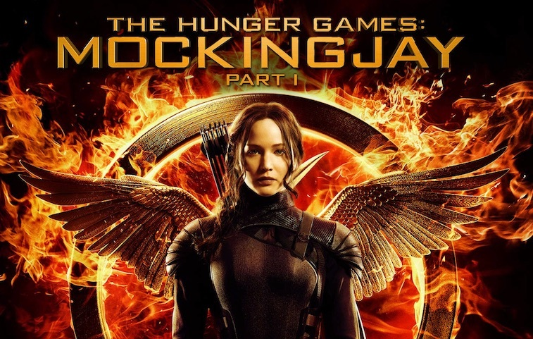 Jennifer Lawrence on The Hunger Games: Mockingjay, Part 1 – Original Motion Picture Soundtrack cover