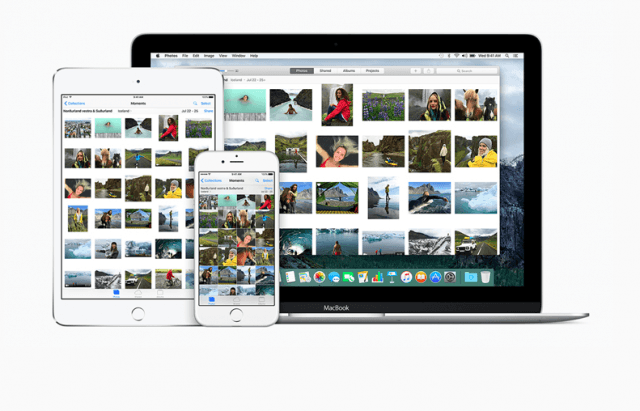 iCloud Photo Library on iPad, iPhone, and Mac