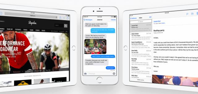iOS 9 on iPhone and iPad