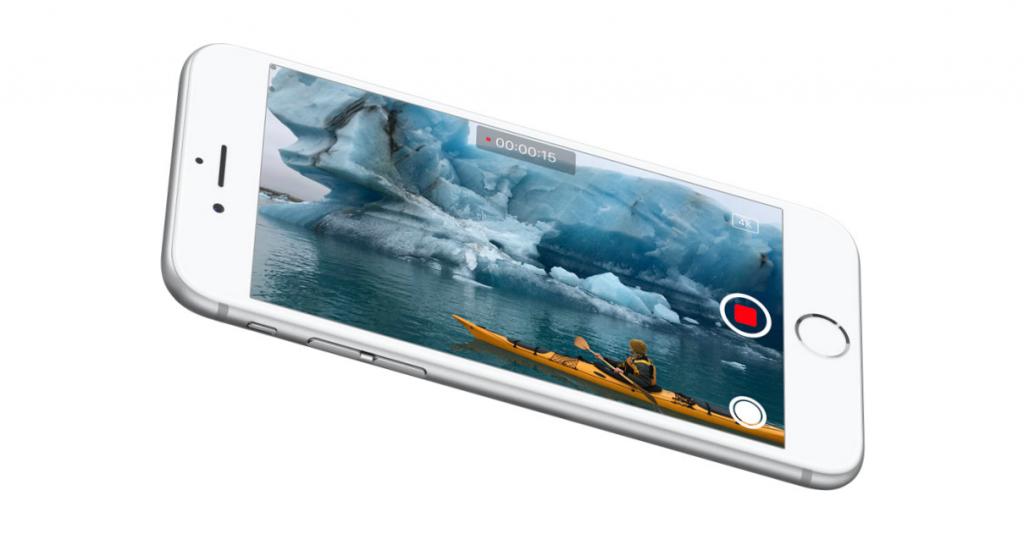 iPhone 6s camera recording video