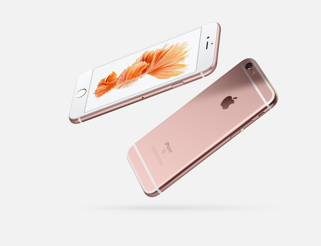 iPhone 6s rose gold