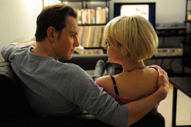 Michael Fassbender and Carey Mulligan in 'Shame'