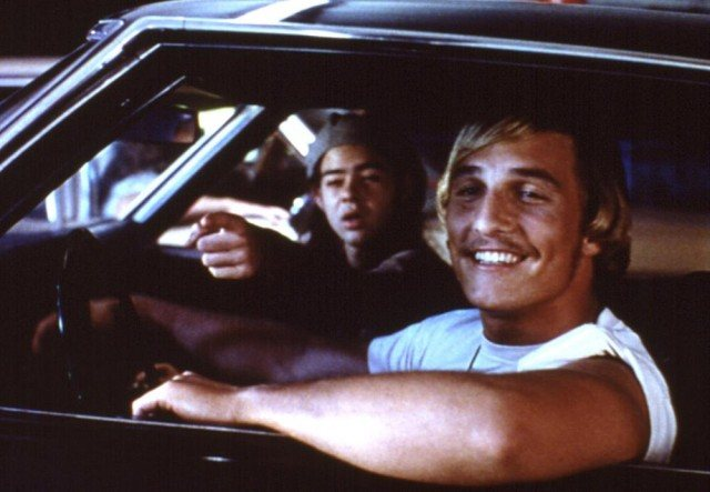 Rory Cochrane and Matthew McConaughey in 'Dazed and Confused'