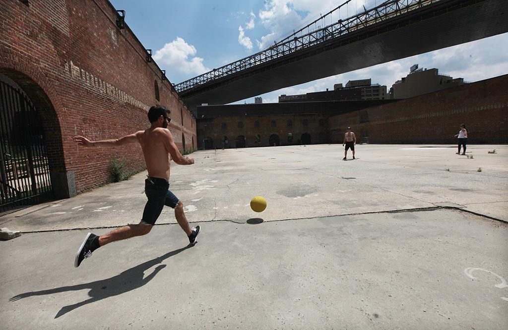 kickball, New York City