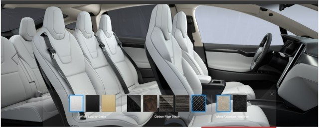 Tesla Model X Signature Interior