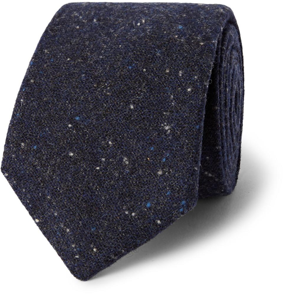 Oliver Spencer Wool Tie
