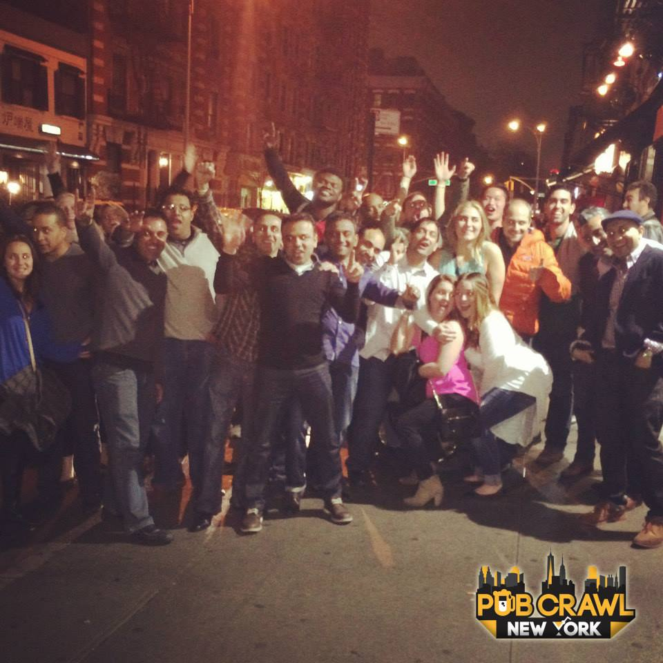 Source: Pub Crawl New York Official Facebook Page