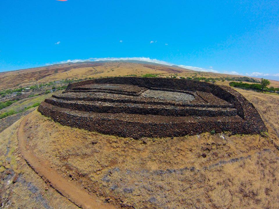 Fuente: Página oficial de Facebook del Sitio Histórico Nacional Pu`ukoholā Heiau