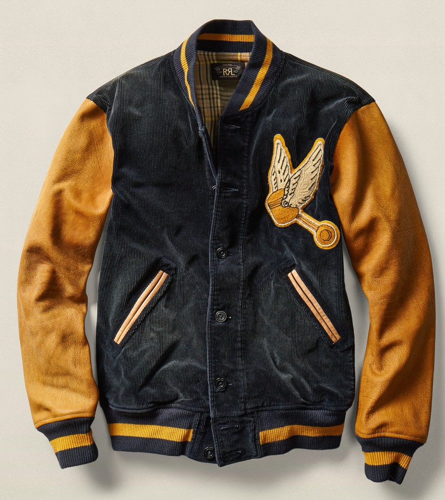 ralph lauren varsity jacket
