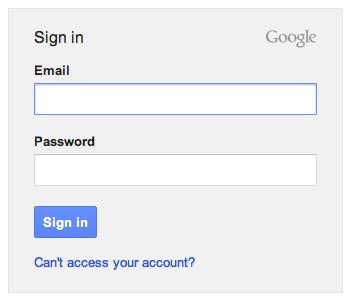 Google.com/Signin