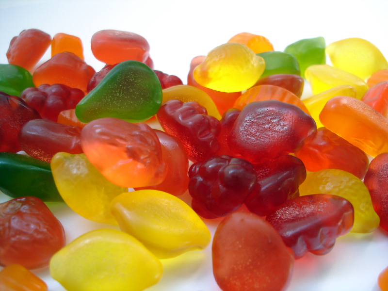 gummy candies contain processed ingredients