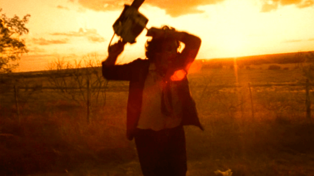 Leatherface in 'The Texas Chain Saw Massacre'