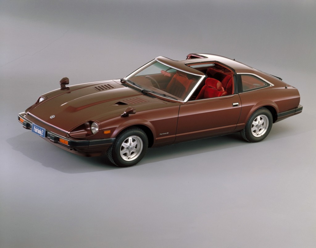 A 1978 Datsun 280ZX on display.