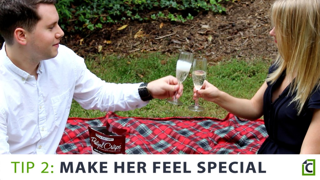 2 make her feel special