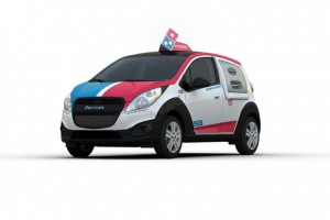 Domino's New Pizza Vehicle Has a Hot New Feature
