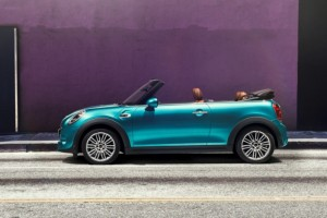 The New Mini Convertible Is Getting Ready to Rock