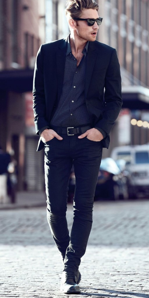 All Black Office Style