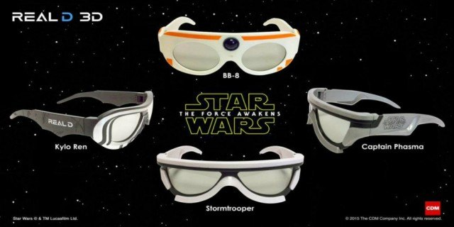 Star Wars 3D Glasses - The Force Awakens