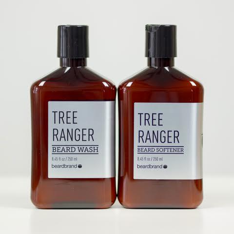 Beard wash and softener