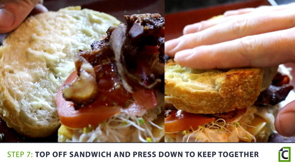 7 top off your sandwich