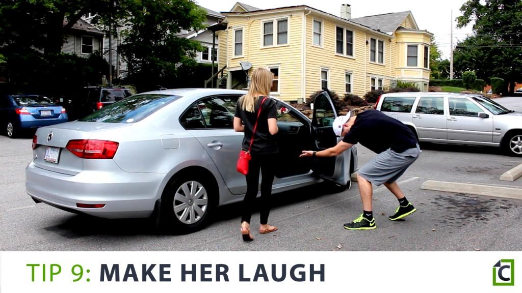 9 make her laugh