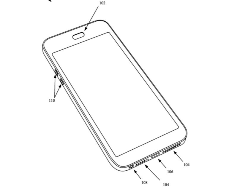 Apple waterproofing patent