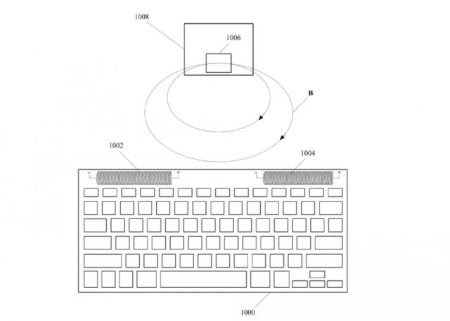 Apple wireless charging patent