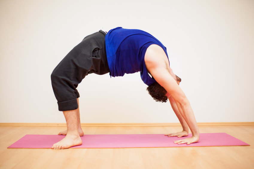back bend exercise