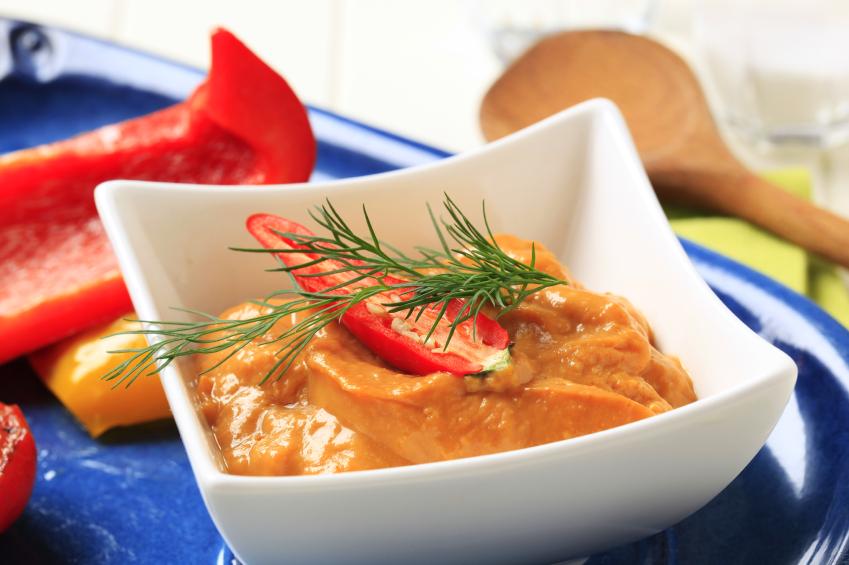 romesco, bell pepper sauce