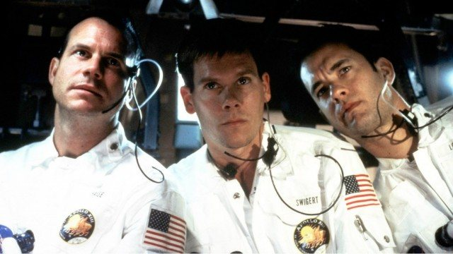 Bill Paxton, Kevin Bacon and Tom Hanks in 'Apollo 13'