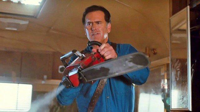 Bruce Campbell in' Ash vs Evil Dead'