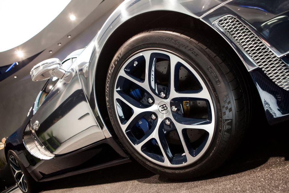 Bugatti Grand Sport Vitesse Wheel