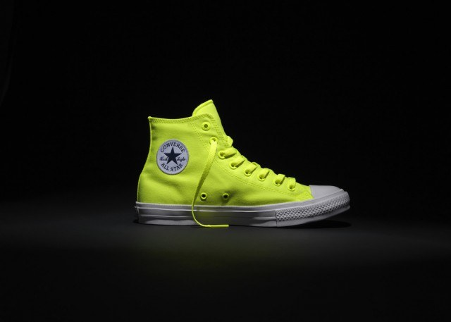converse neon sneakers