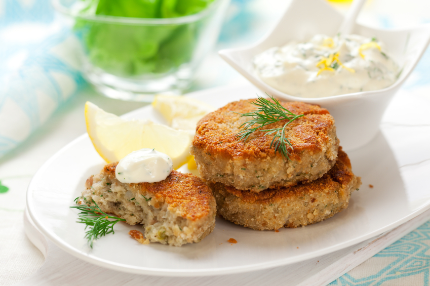 Canned Cod Fish Cakes