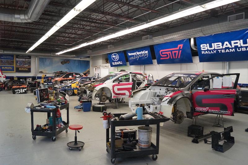 Vermont SportsCar Subaru Rally