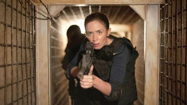 Emily Blunt in 'Sicario'