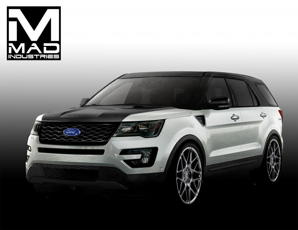 Ford Gets 4 Custom Explorers Ready For Sema