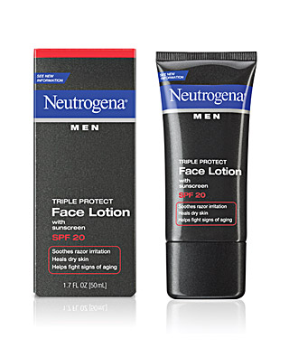 Neutrogena Men Triple Protect Face Lotion With Sunscreen SPF 20