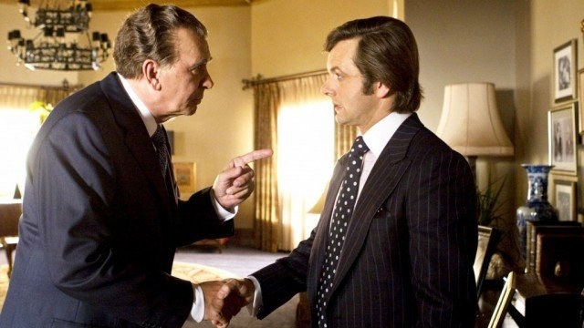 Frank Langella and Michael Sheen in 'Frost/Nixon'