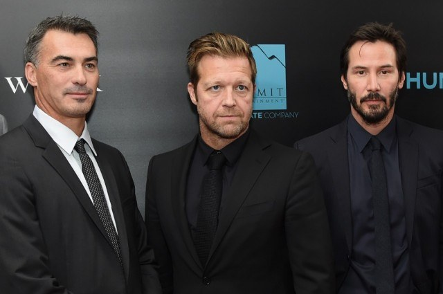 Chad Stahelski, David Leitch, and Keanu Reeves.