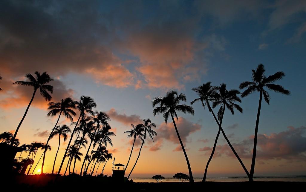 Sunrise in Honolulu