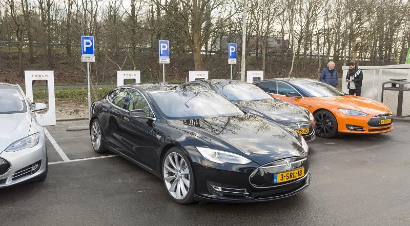 NETHERLANDS-TRANSPORT-ELECTRIC-CAR