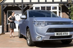 Mitsubishi Expects Outlander PHEV to Sell Big in America