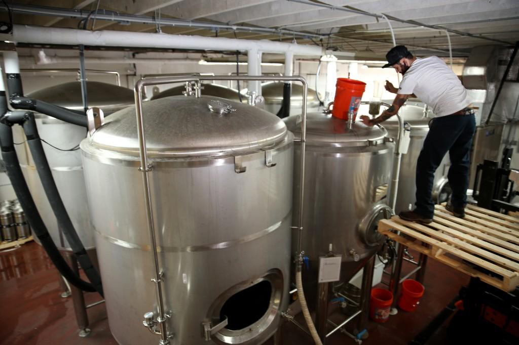 brewing beer