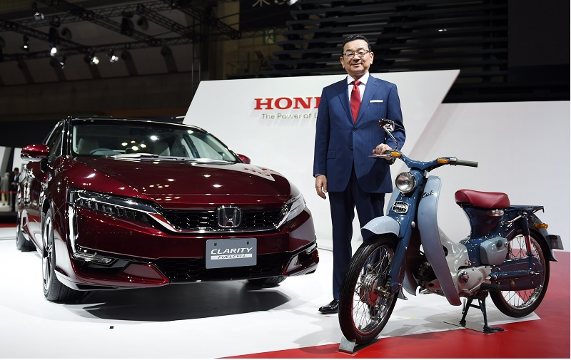 Honda Clarity Fuel Cell and EV Cub