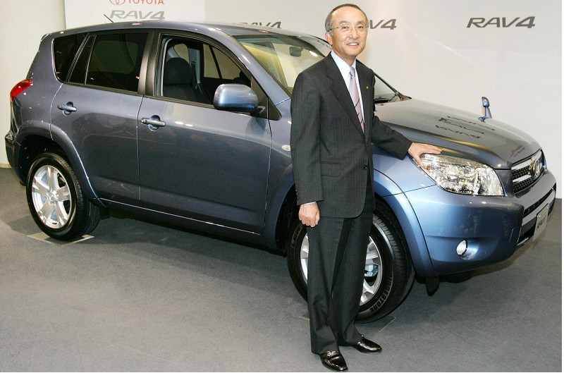 Katsuaki Watanabe, President of Toyota M