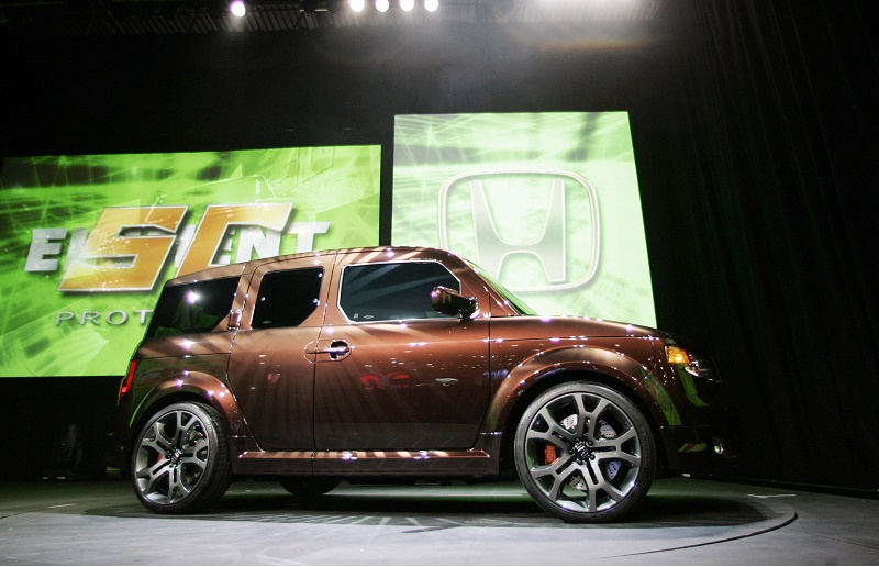 The 2007 Honda Element SC is rolled out