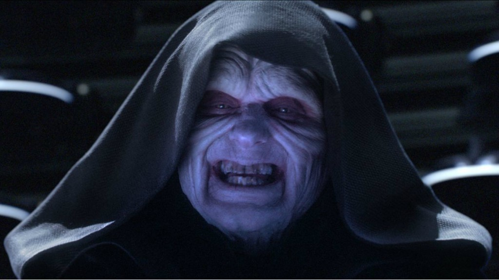 Ian McDiarmid as Palpatine in 'Star Wars: Revenge of the Sith'